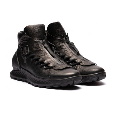 ECCO x the last conspiracy SAIKA High Top Sneaker MW.1.11 black/black/black