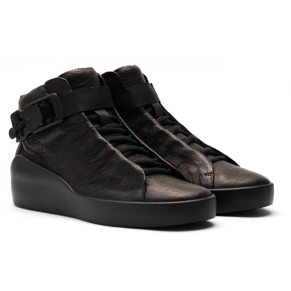 ECCO x the last conspiracy SATO High Top Sneaker MW.1.11 black/black/black