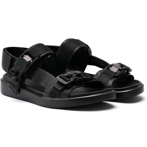 ECCO x the last conspiracy SALVADOR re waxed Sandal 00111 black/black/black