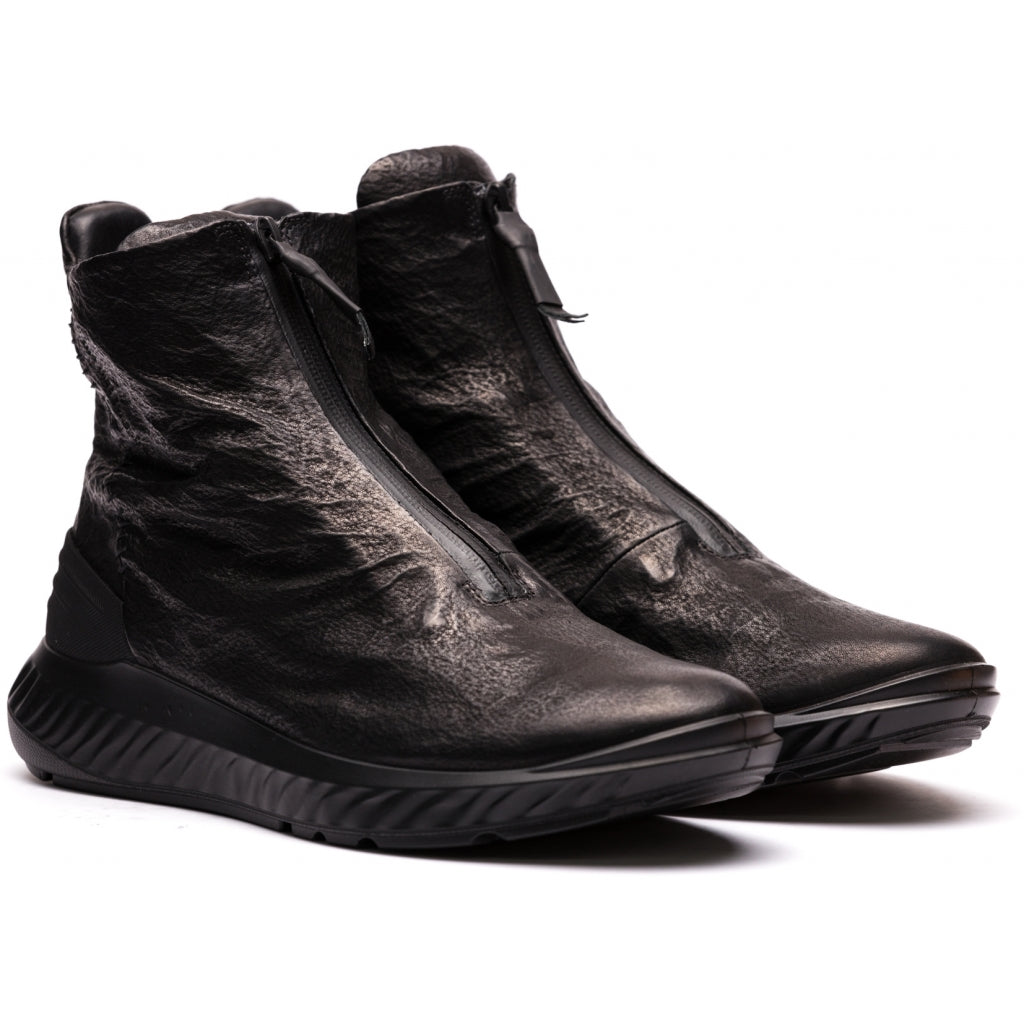 ECCO x the last conspiracy Tatsuo High Top Sneaker MW.1.11 black/black/black