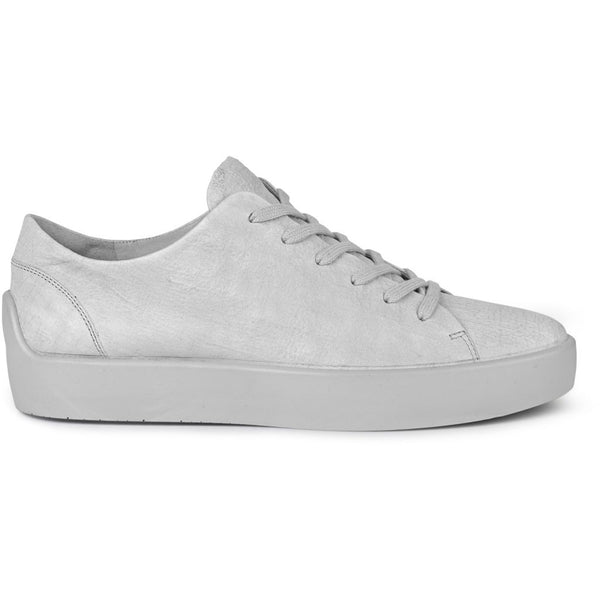 ECCO x the last conspiracy LIF waxed bonded Low Top Sneaker 7.379.2 white/concrete/bright white