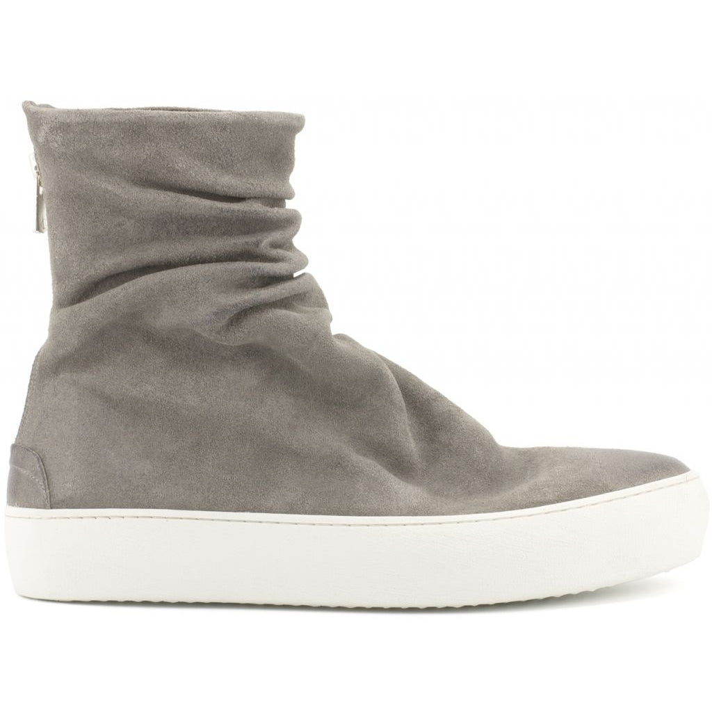 the last conspiracy FINN waxed suede High Top 452 Dark Grey/white sole/buffed sole