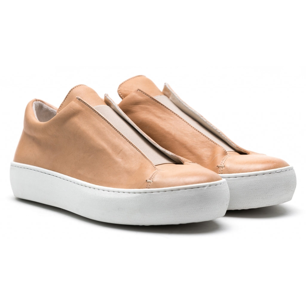 the last conspiracy SAMO soft Low Top Sneaker 413 Beige/white sole/buffed sole