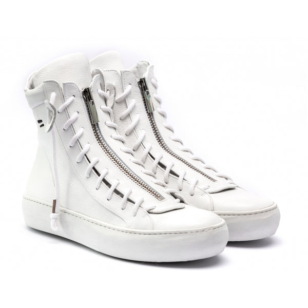 the last conspiracy TARO trento High Top Sneaker 336 White/buffed sole