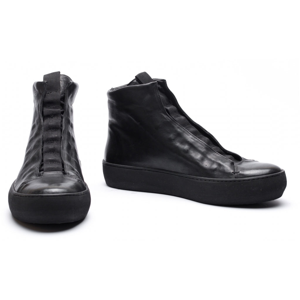 the last conspiracy ERNALDO trento Laced Boot 301 Black/buffed sole