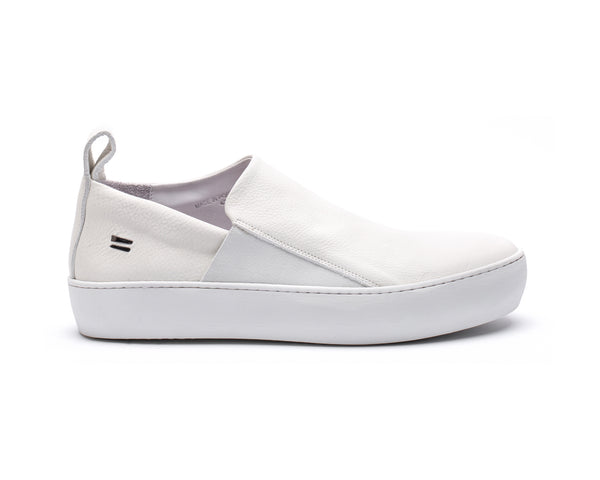 the last conspiracy ELIANE Loafer 336 White/buffed sole