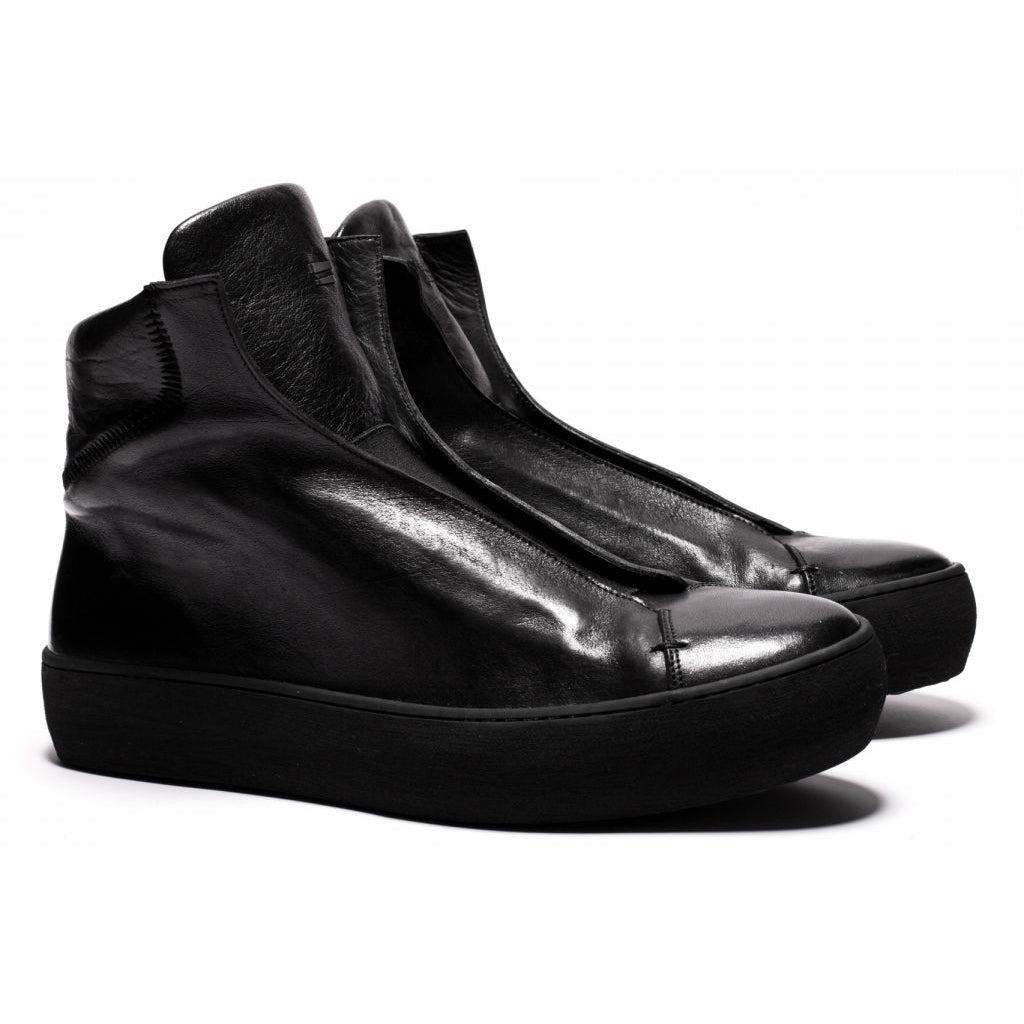 the last conspiracy WALTER re waxed High Top 301 Black/buffed sole