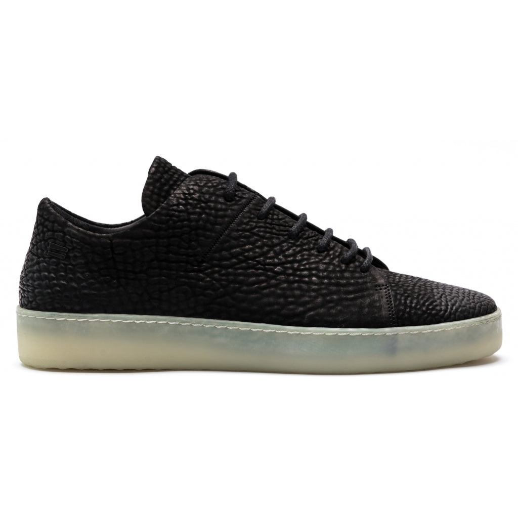 the last conspiracy KADEN re waxed Laced Shoe 736 White/transparent sole