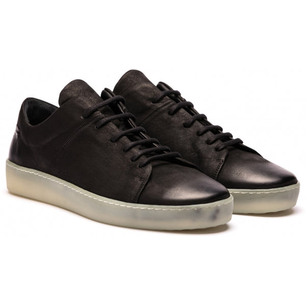the last conspiracy KADEN mat Laced Shoe 701 Black/transparent sole