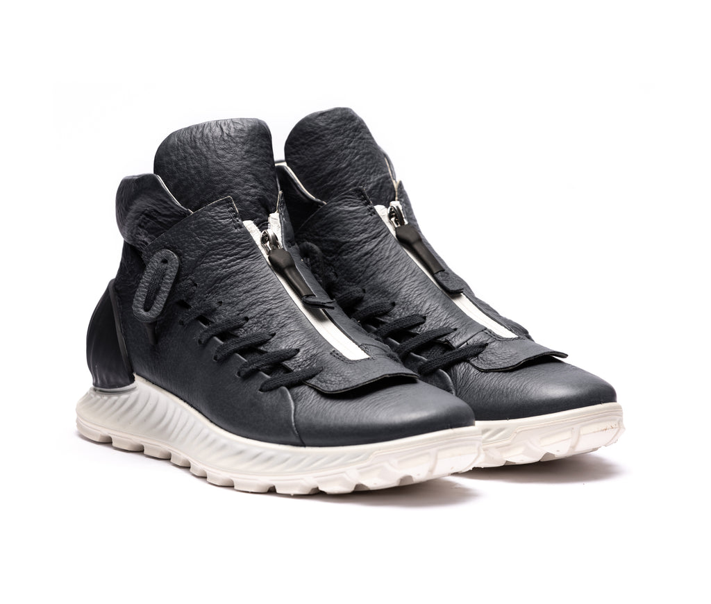 ECCO x the last conspiracy KIMURA High Top Sneaker N.415.77 dark blue/white