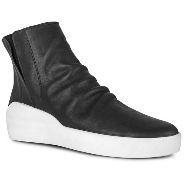 ECCO x the last conspiracy TORMOD waxed High Top 00177 black/white/white