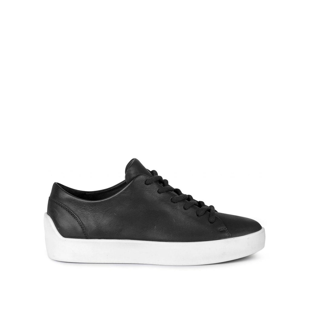 ECCO x the last conspiracy EIK waxed Low Top Sneaker 00177 black/white/white
