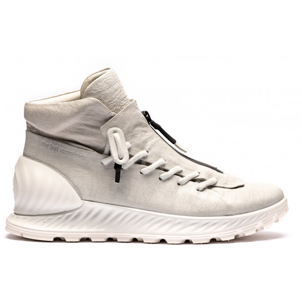 ECCO x the last conspiracy KIMURA High Top Sneaker MW.7.77 white/white/white