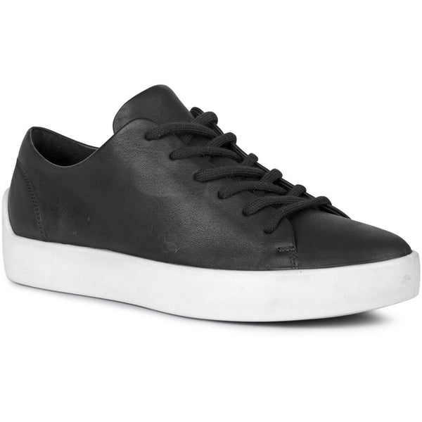 ECCO x the last conspiracy LIF waxed Low Top Sneaker 00177 black/white/white