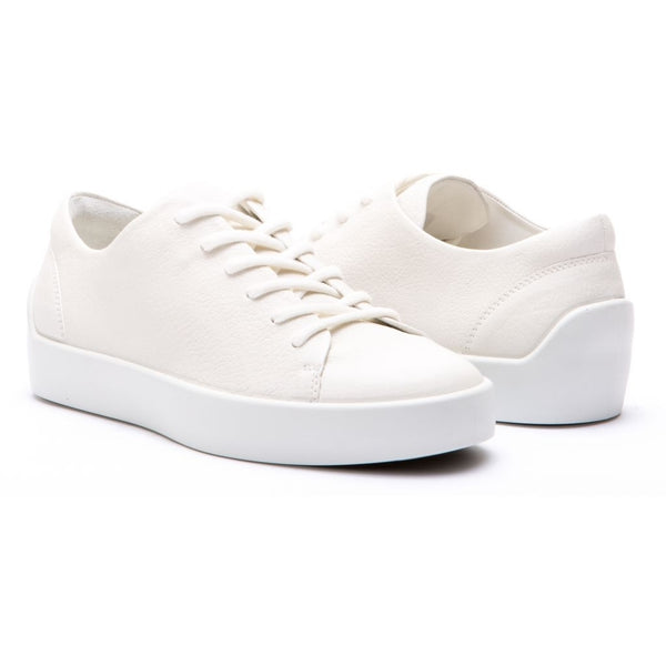 ECCO x the last conspiracy EIK Low Top Sneaker 00777 white/white/white