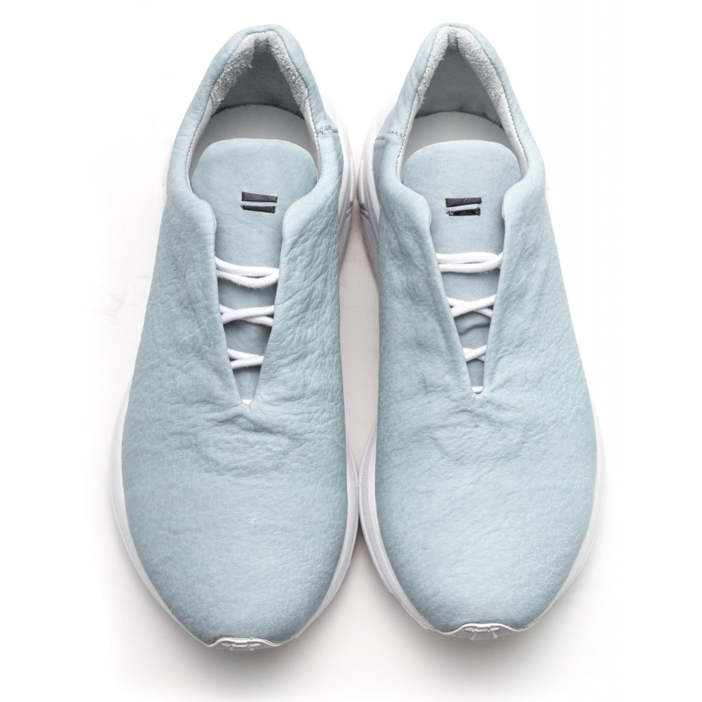 the last conspiracy KANTI waxed bonded Low Top Sneaker 278 Ice blue/white sole