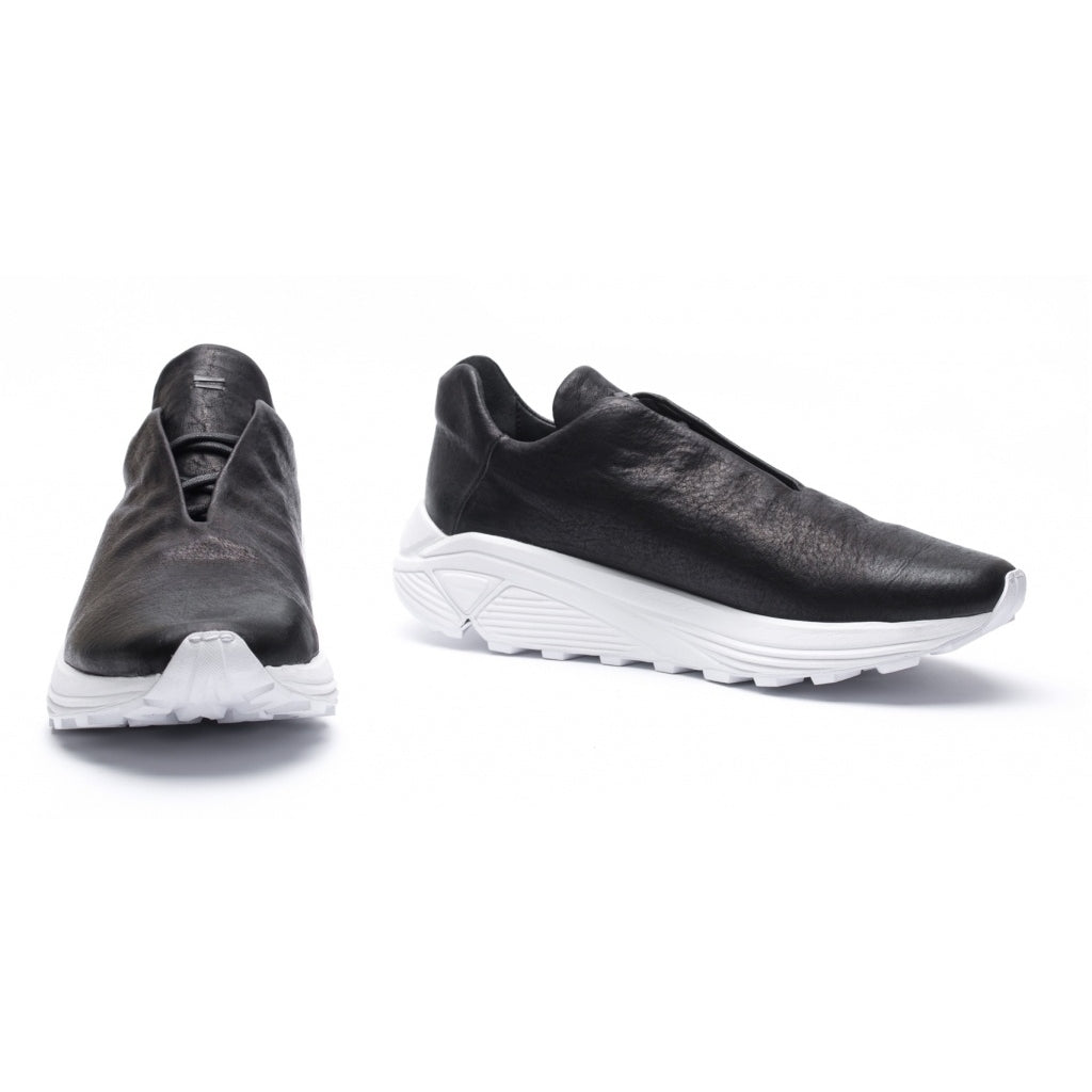 the last conspiracy CALEB Dyneema Low Top Sneaker 201 Black/white sole