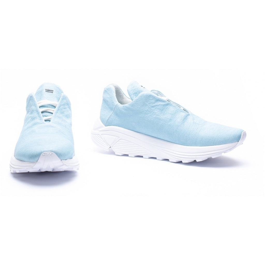 the last conspiracy CALEB Dyneema Low Top Sneaker 278 Ice blue/white sole