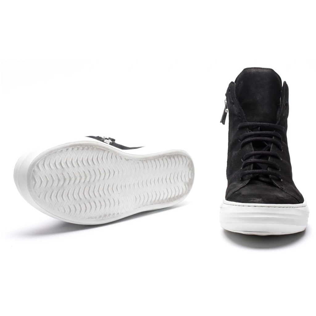 the last conspiracy NANCY mat High Top 201 Black/white sole