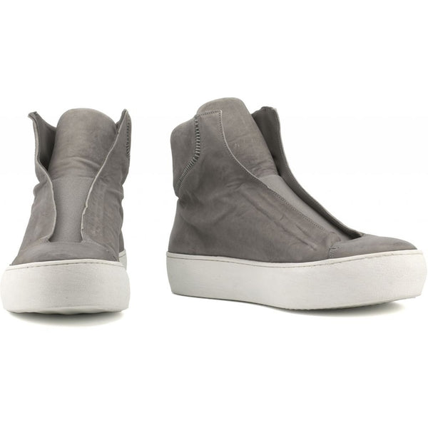 the last conspiracy WALTER mat High Top Sneaker 252 Dark Grey/white sole