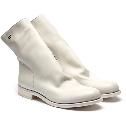 the last conspiracy SERGIO porto Zip Boot 257 Off White/white sole