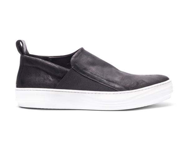 the last conspiracy GUILHERME mat Loafer 201 Black/white sole