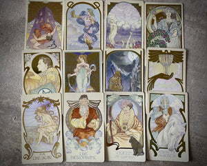 Ethereal Visions Illuminated Tarot Deck & Booklet