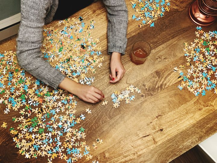 Why Jigsaw Puzzles Are So Soothing And Addicting Right Now Experts share how doing a puzzle can affect your mental state amid the coronavirus pandemic.  Caroline Bologna