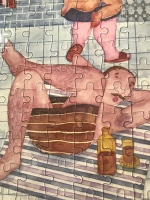 Artist Orkideh Torabi Collector Edition Jigsaw Puzzle