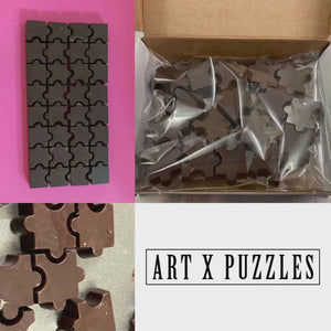 ARTXPUZZLES Luxury Artisan Chocolate Jigsaw Puzzle: Special Timed Edition