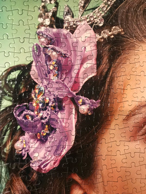 Artist Andres Serrano Puzzle: Unlimited Collector Edition Jigsaw Puzzle
