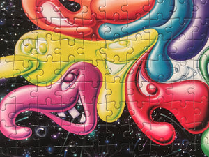 Artist Kenny Scharf Puzzle: Unlimited Collector Edition Jigsaw Puzzle