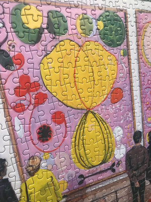 Artist Joe Fig Jigsaw Puzzle