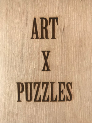 Artist Tauba Auerbach Puzzle: Unlimited Collector Edition Jigsaw Puzzle