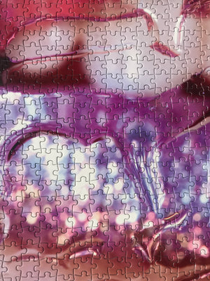 Artist Marilyn Minter: Unlimited Collector Edition Jigsaw Puzzle