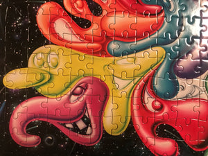 Artist Kenny Scharf Puzzle: Unlimited Collector Edition