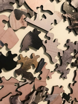 Artist Jitish Kallat Victorian-Cut Collector Edition Wooden Jigsaw Puzzle