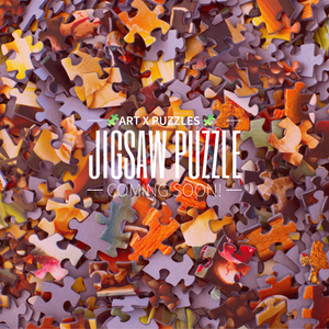 Artist Vik Muniz Puzzle: We are puzzling away preparing a puzzle for you!