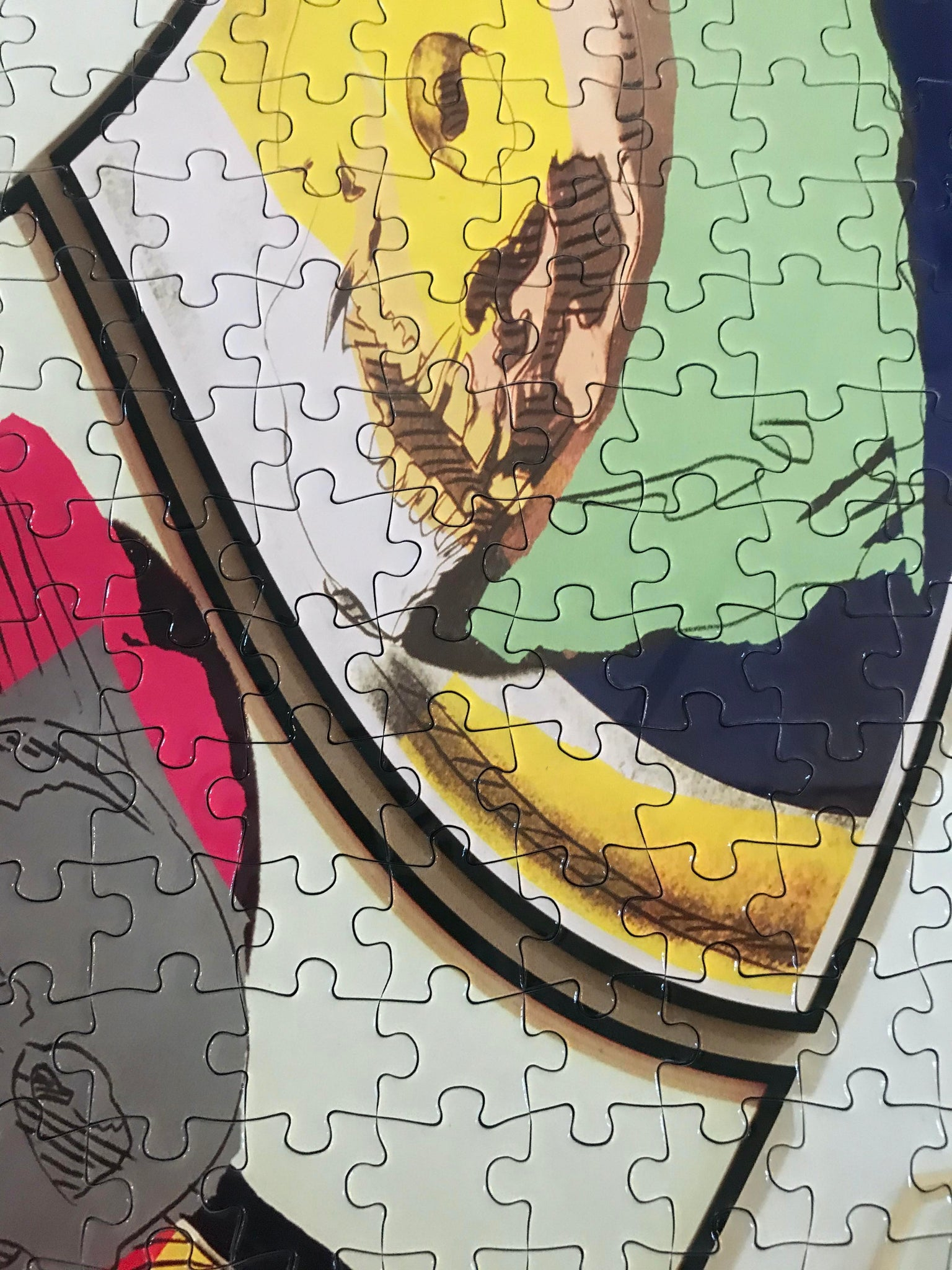 Artist Louise Lawler Puzzle: Unlimited Collector Edition Jigsaw Puzzle