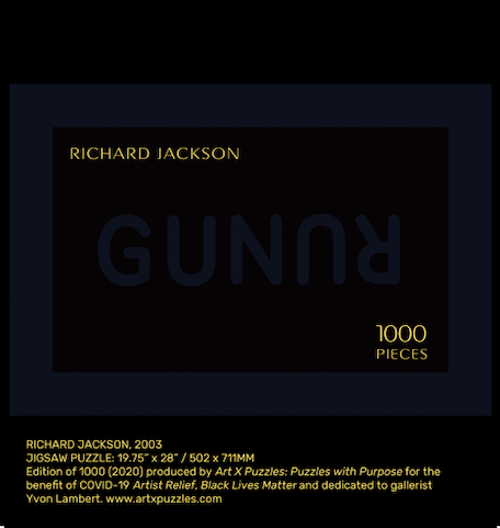 Artist Richard Jackson Puzzle: 1000 Collector Edition Jigsaw Puzzle