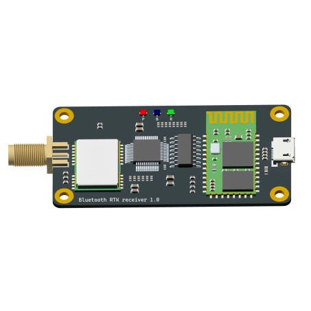 D9 Bluetooth/USB RTK receiver(RTK engine inside)