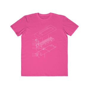 Keyboard Case Diagram Tee