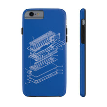 Load image into Gallery viewer, Patent Diagram Keyboard Phone Case