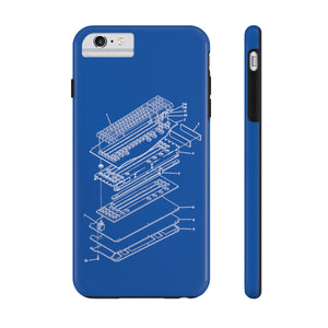 Patent Diagram Keyboard Phone Case