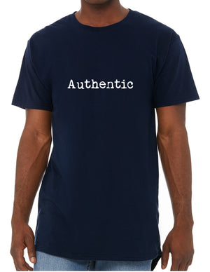 AUTHENTIC SHORT SLEEVE TEE - NAVY