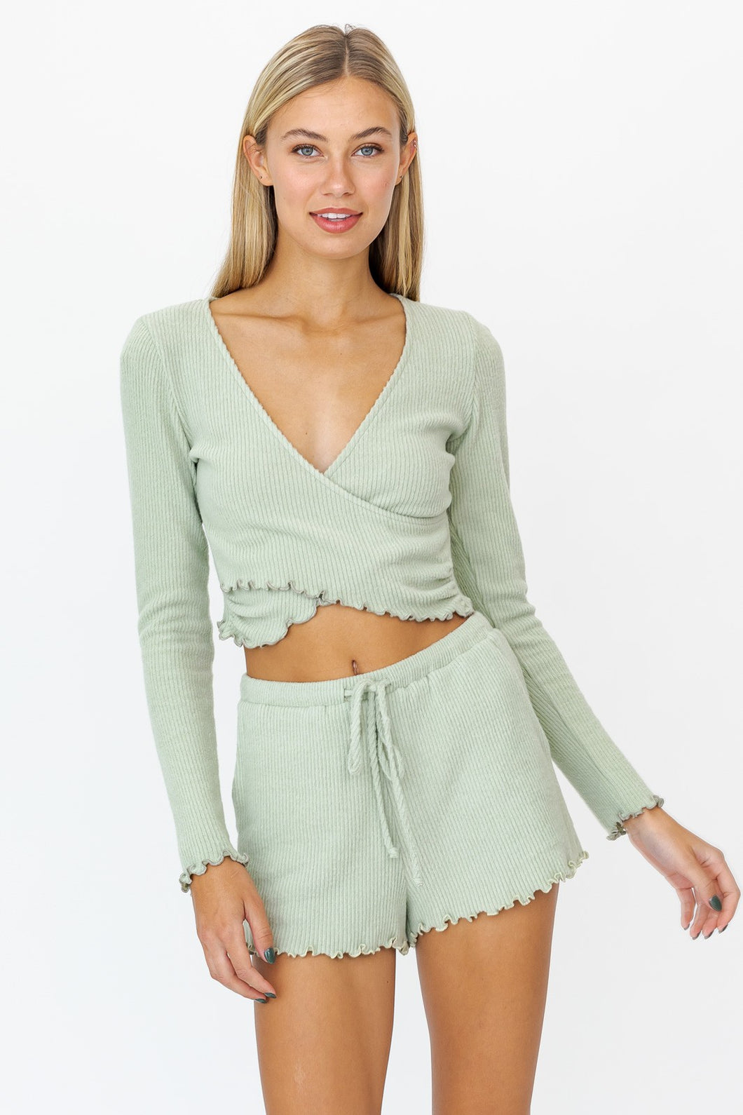 Modern Romance Boutique - Julia Wrap Top