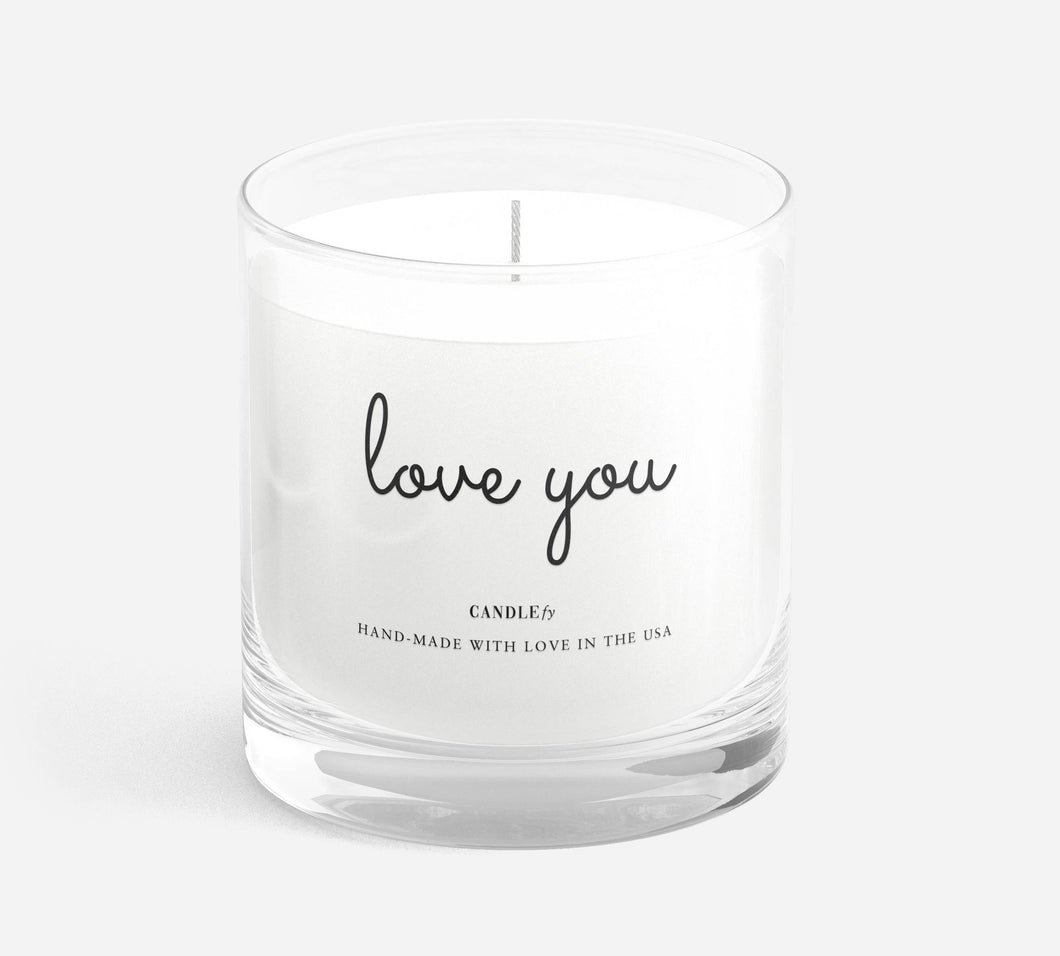 Love You Candle - Modern Romance Boutique