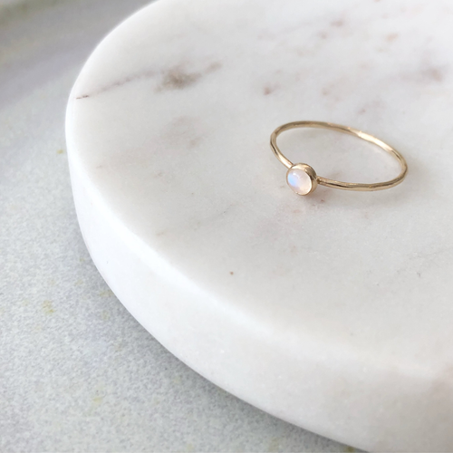 Moonstone Ring - Modern Romance Boutique
