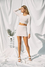 Load image into Gallery viewer, Taylor Striped Skirt Set - Modern Romance Boutique
