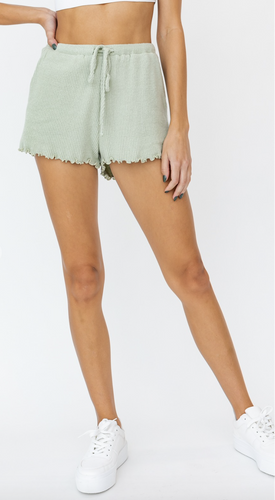 Modern Romance Boutique - Julia Ribbed Shorts